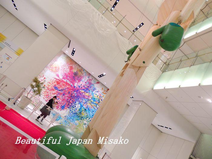 サンケイホールブリーゼ はお洒落なビルだった・゚☆、・:`☆・・゚・゚☆。大阪_c0067206_13504667.jpg