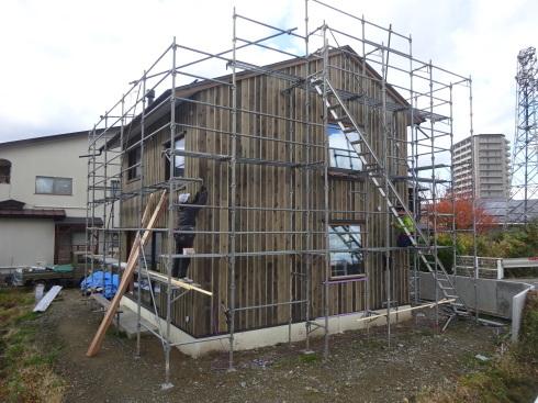 仙北町の家 大工工事が進行中です!_f0105112_04321779.jpg