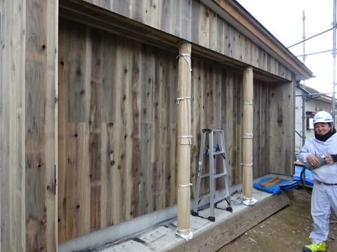 仙北町の家 大工工事が進行中です!_f0105112_04321803.jpg