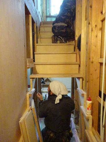 仙北町の家 大工工事が進行中です!_f0105112_04452263.jpg