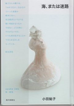 小田鮎子第一歌集『海、または迷路』~アイデンティティを問い続ける人  大野英子_f0371014_06471090.jpg