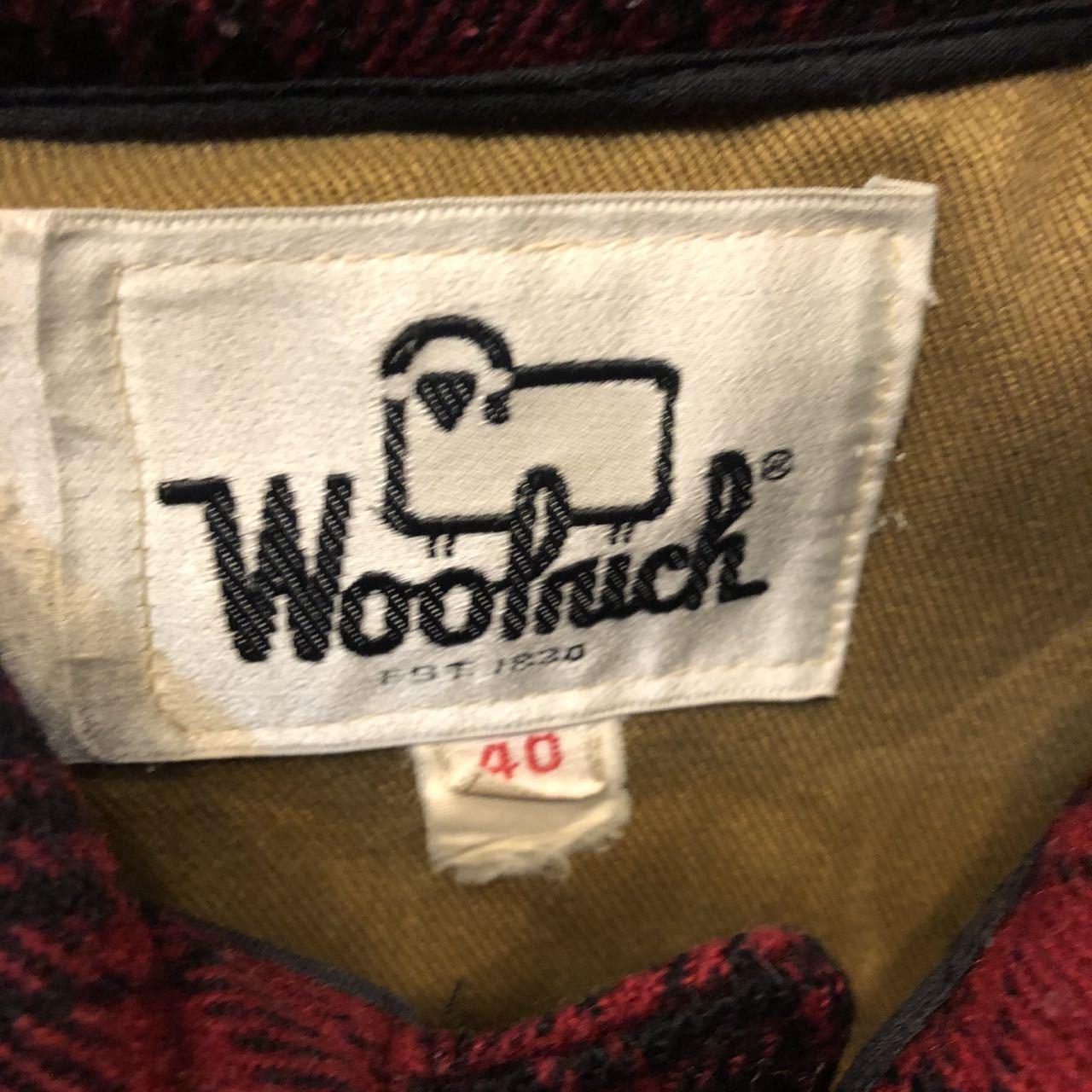 1月11日(土)入荷!70s WOOLRICHウールリッチ オンブレ ハンティングジャケット! _c0144020_13260468.jpg