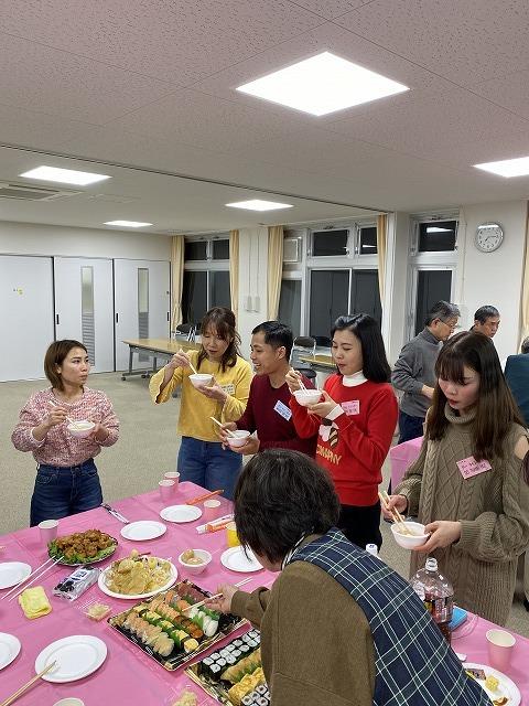 水曜日夜永和教室 2020年 01月 08日 「新年会」を開催しました_e0175020_17132901.jpg