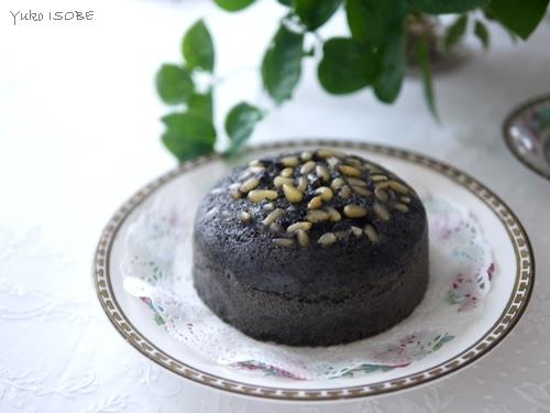 黒芝麻馬拉糕(黒胡麻のマーラーガオ)@ゆるマクロビ_a0169924_23304222.jpg