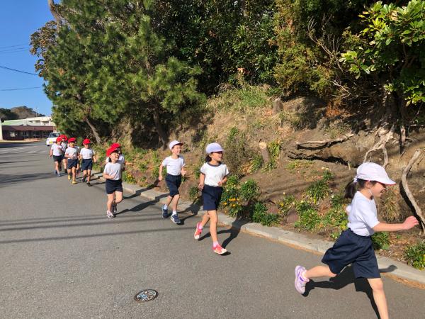 低学年のマラソン試走です!_a0131631_10422809.jpg