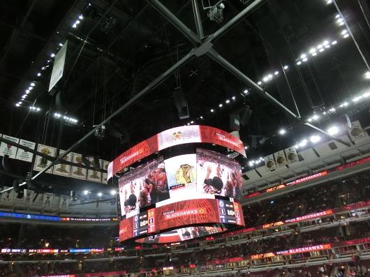 NHL観戦 ☆ CHICAGO Blackwawks 公開練習_e0303431_17520072.jpg