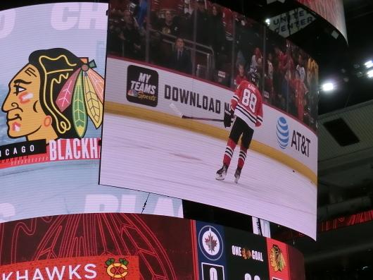 NHL観戦 ☆ CHICAGO Blackwawks 公開練習_e0303431_17544502.jpg
