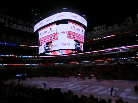NHL観戦 ☆ CHICAGO Blackwawks 公開練習_e0303431_18003282.jpg