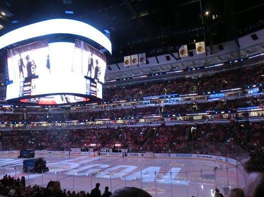 NHL観戦 ☆ CHICAGO Blackwawks 公開練習_e0303431_18013480.jpg