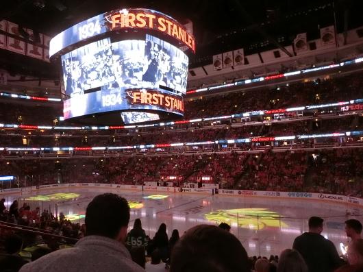 NHL観戦 ☆ ブラックホークス_e0303431_19254265.jpg