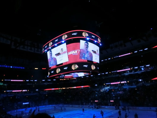 NHL観戦 ☆ ブラックホークス_e0303431_19305761.jpg
