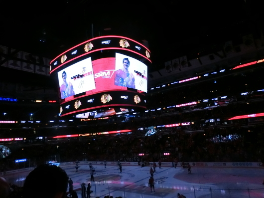 NHL観戦 ☆ ブラックホークス_e0303431_19311029.jpg