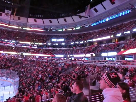 NHL観戦 ☆ ブラックホークス_e0303431_19313628.jpg