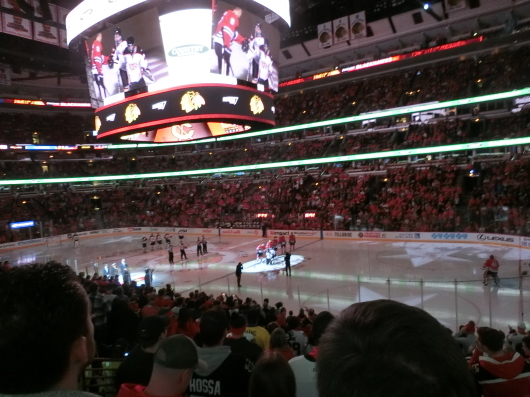 NHL観戦 ☆ ブラックホークス_e0303431_19330479.jpg