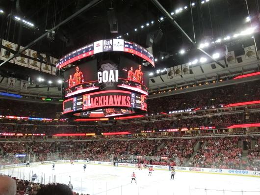 NHL観戦 ☆ ブラックホークス_e0303431_19401722.jpg