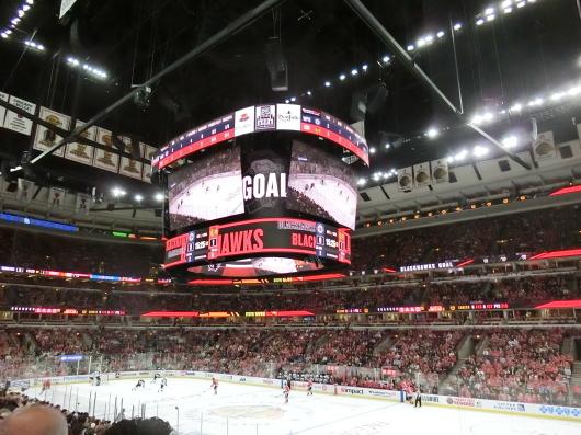 NHL観戦 ☆ ブラックホークス_e0303431_19415542.jpg