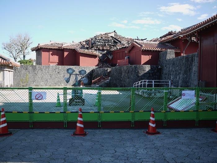 沖縄冬至越えの旅9 火災後の首里城へ_e0359436_10370634.jpeg
