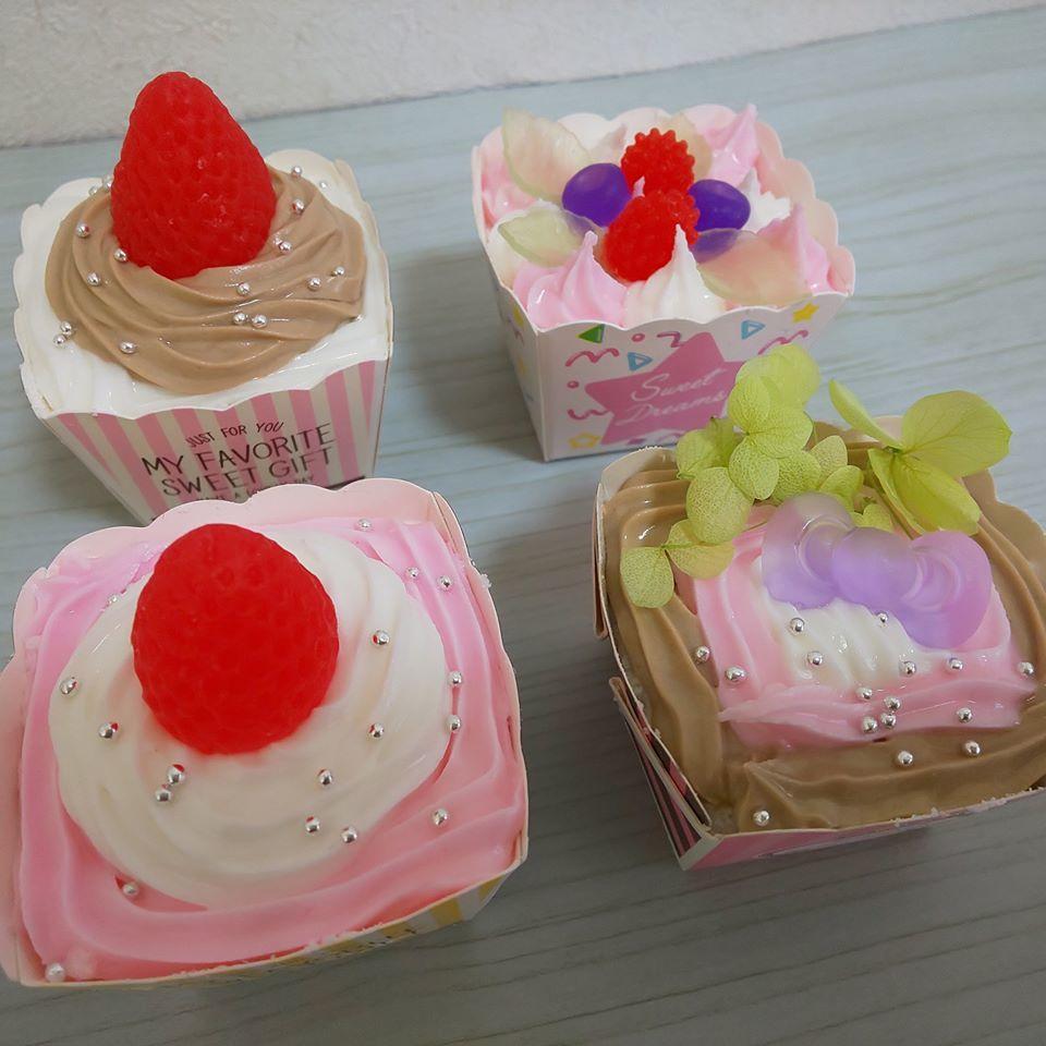 1月28日(火) コルトンワークショップ1月 ★本物みたいなカップケーキバスボム作り_e0239948_08260880.jpg