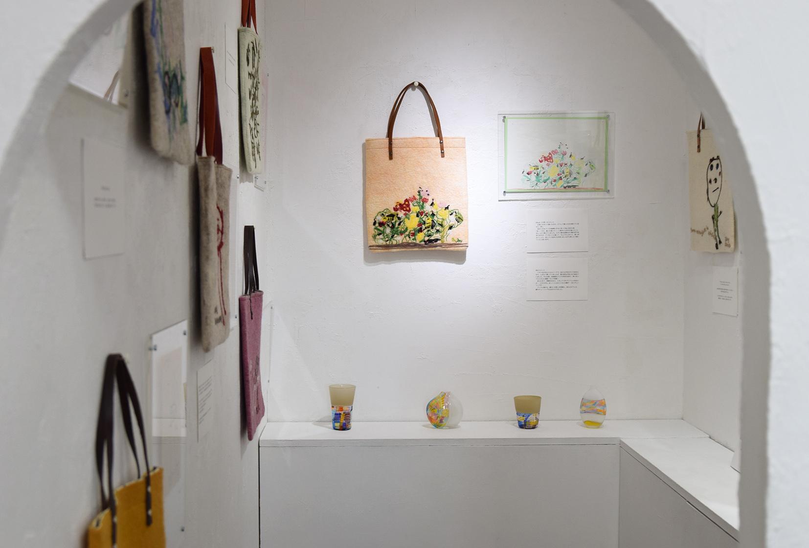 MOSAIC FELT Kokuga Rumi exhibition @ 1日目_e0272050_17392395.jpg