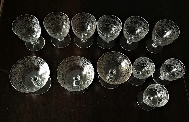 渦巻グラビール模様のクリスタルグラス110 3種_f0112550_01503935.jpg