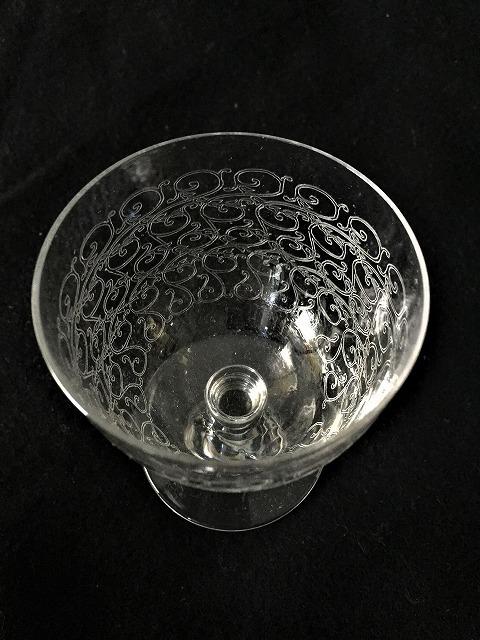 渦巻グラビール模様のクリスタルグラス110 3種_f0112550_01580646.jpg