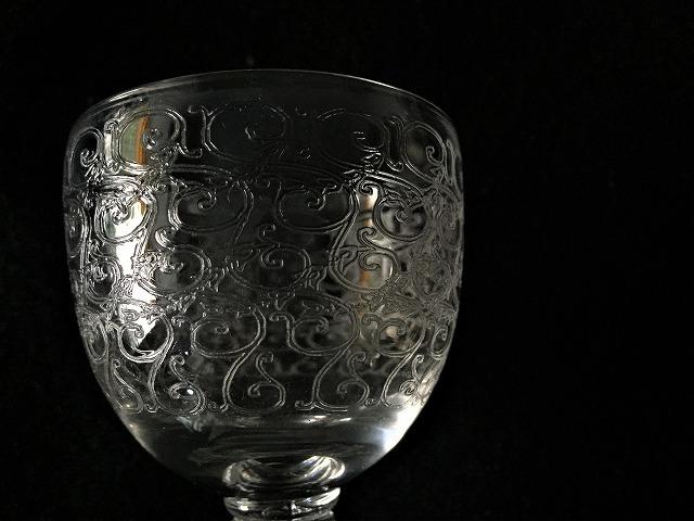 渦巻グラビール模様のクリスタルグラス110 3種_f0112550_01585765.jpg