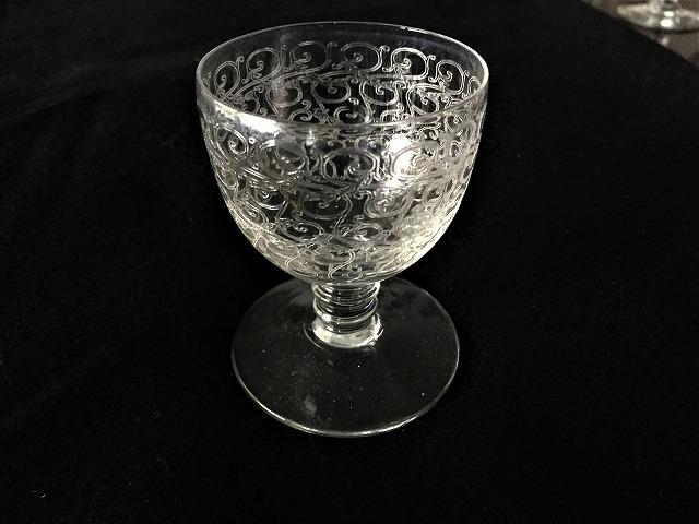 渦巻グラビール模様のクリスタルグラス110 3種_f0112550_01585792.jpg