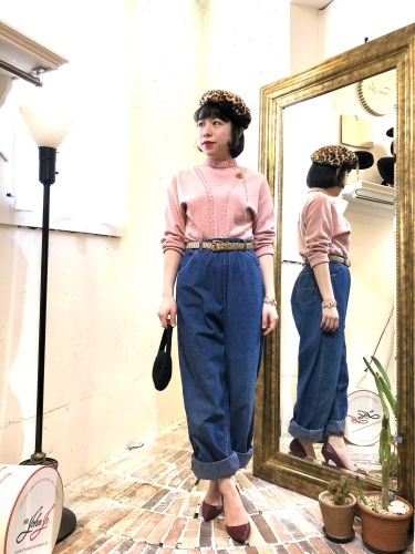 NEW ARRIVAL*VINTAGE DENIM PANTS_e0148852_17192216.jpg