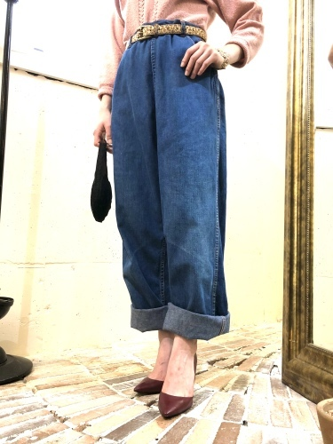 NEW ARRIVAL*VINTAGE DENIM PANTS_e0148852_17211673.jpg