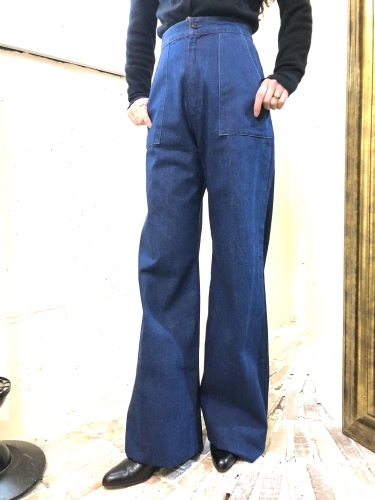 NEW ARRIVAL*VINTAGE DENIM PANTS_e0148852_20031593.jpg