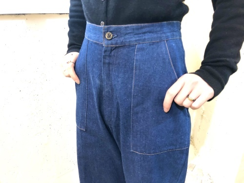 NEW ARRIVAL*VINTAGE DENIM PANTS_e0148852_20033497.jpg