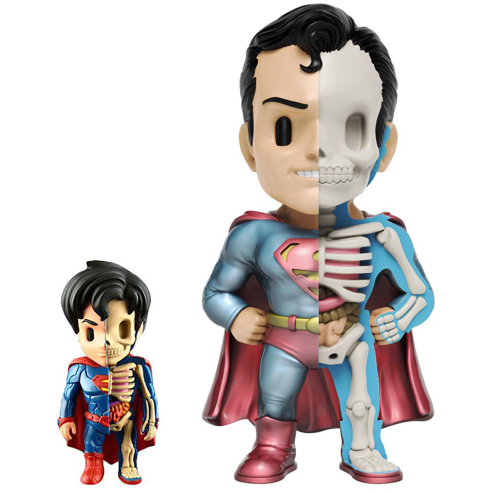XXRAY Plus Superman by Jason Freeny_e0118156_21431239.jpg
