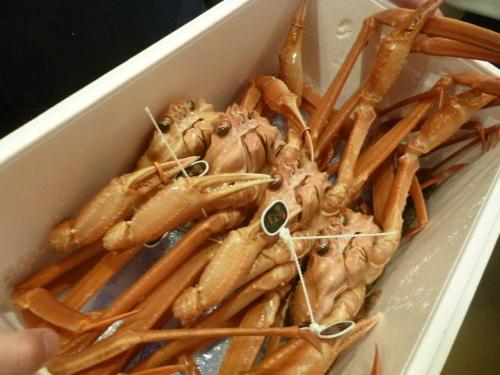 ステーキ初めに蟹初め・・・_e0252966_12341861.jpg