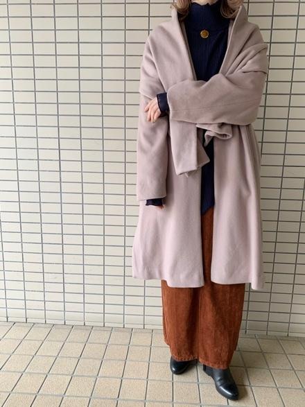 New Year Sale☆PickUp☆CYNICAL/ストール付WOOLCoat☆_e0269968_15180481.jpg
