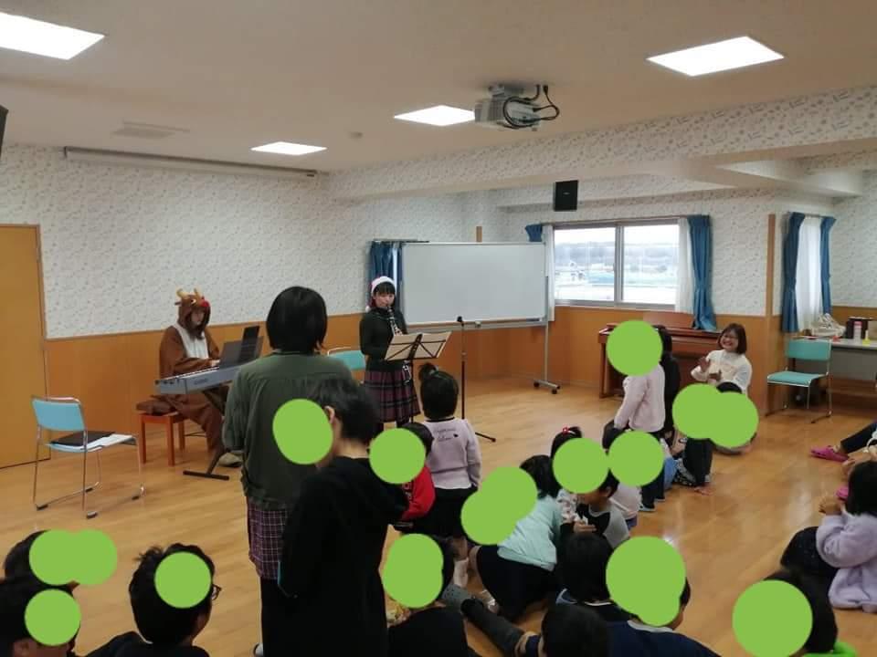 【児童養護施設でのクリスマスコンサート】_f0315370_15374919.jpg