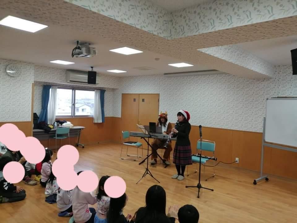 【児童養護施設でのクリスマスコンサート】_f0315370_15380884.jpg