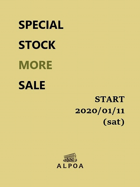 『 SPECIAL STOCK MORE SALE 』_b0139281_1442207.jpg
