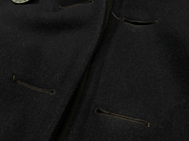 1月15日(水)マグネッツ大阪店ヴィンテージ入荷!!#1 U.S.Navy編! 1910\'s 13starButtonP-Coat & WatchCap、WeatherParka!!_c0078587_0461545.jpg