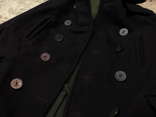 1月15日(水)マグネッツ大阪店ヴィンテージ入荷!!#1 U.S.Navy編! 1910\'s 13starButtonP-Coat & WatchCap、WeatherParka!!_c0078587_046355.jpg