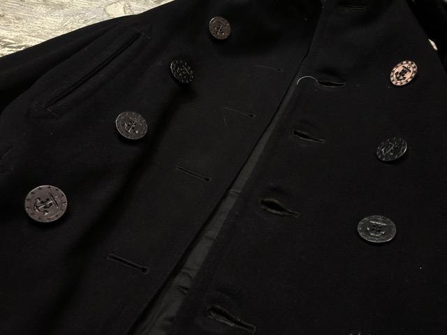 1月15日(水)マグネッツ大阪店ヴィンテージ入荷!!#1 U.S.Navy編! 1910\'s 13starButtonP-Coat & WatchCap、WeatherParka!!_c0078587_0512087.jpg