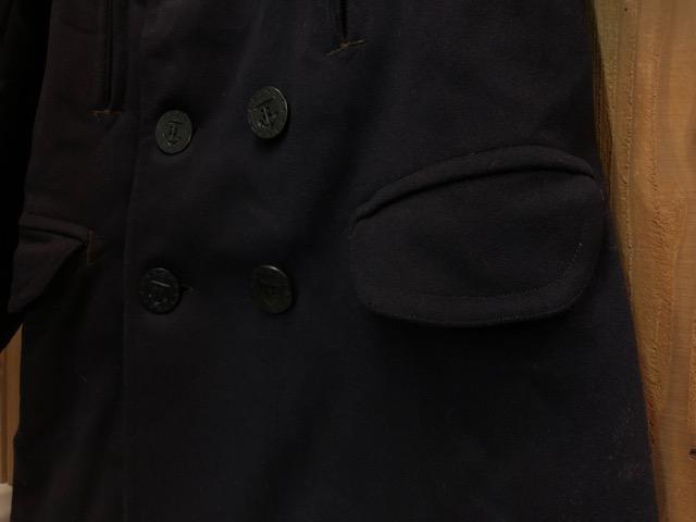 1月15日(水)マグネッツ大阪店ヴィンテージ入荷!!#1 U.S.Navy編! 1910\'s 13starButtonP-Coat & WatchCap、WeatherParka!!_c0078587_224685.jpg