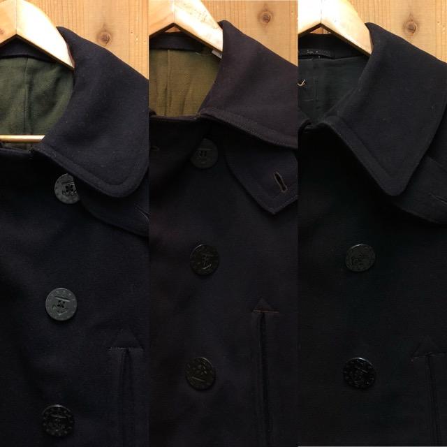1月15日(水)マグネッツ大阪店ヴィンテージ入荷!!#1 U.S.Navy編! 1910\'s 13starButtonP-Coat & WatchCap、WeatherParka!!_c0078587_2252641.jpg