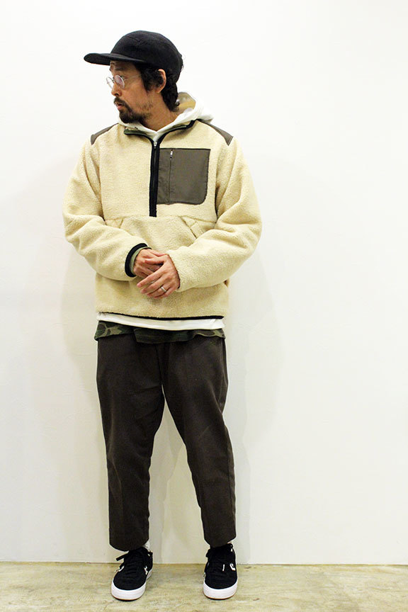 "THE FABRIC (ザ・ファブリック) "" BEAR HALF ZIP JACKET \""_b0122806_12361567.jpg"