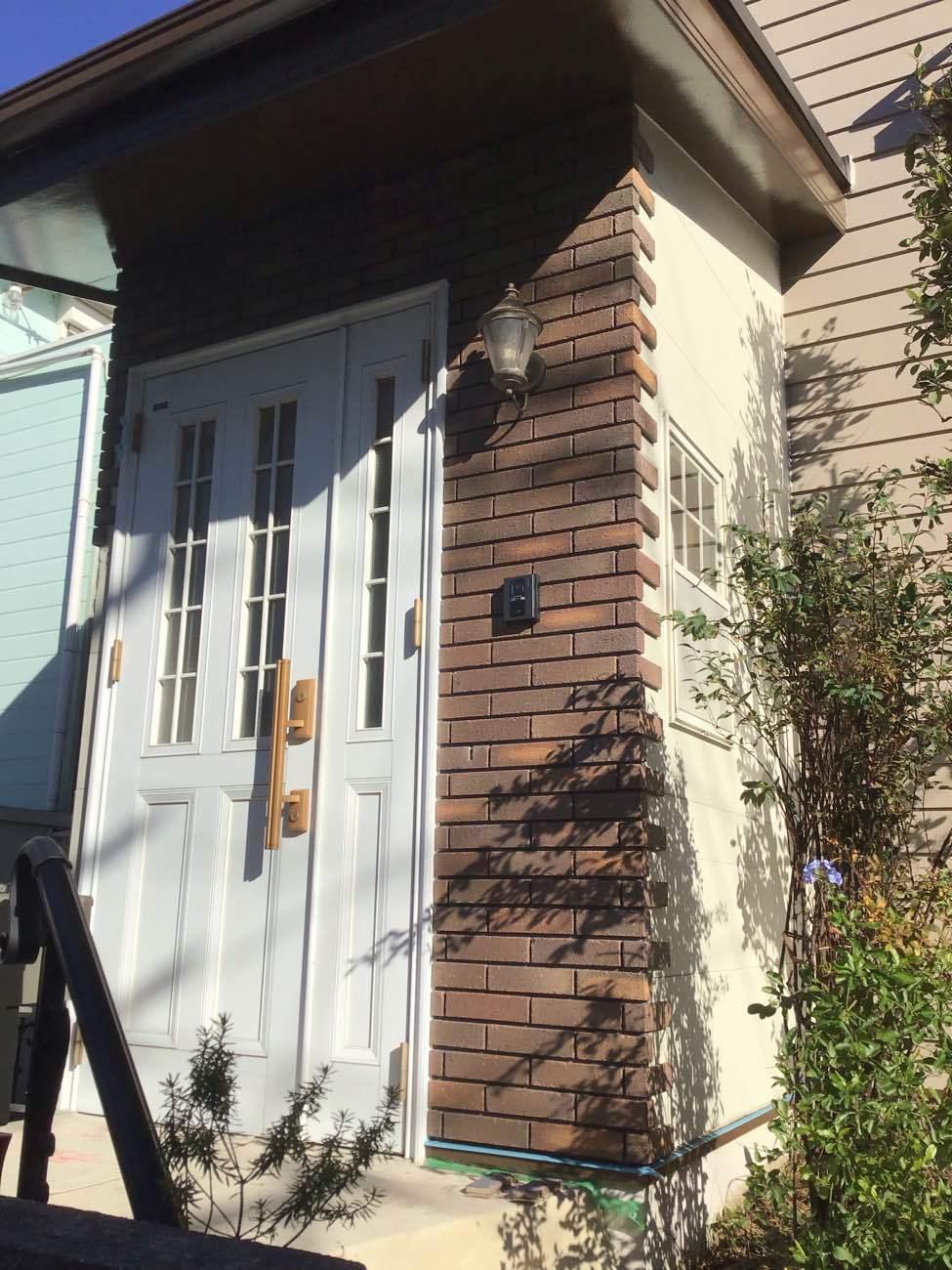 玄関廻りのリフォーム_d0358411_18491510.jpg