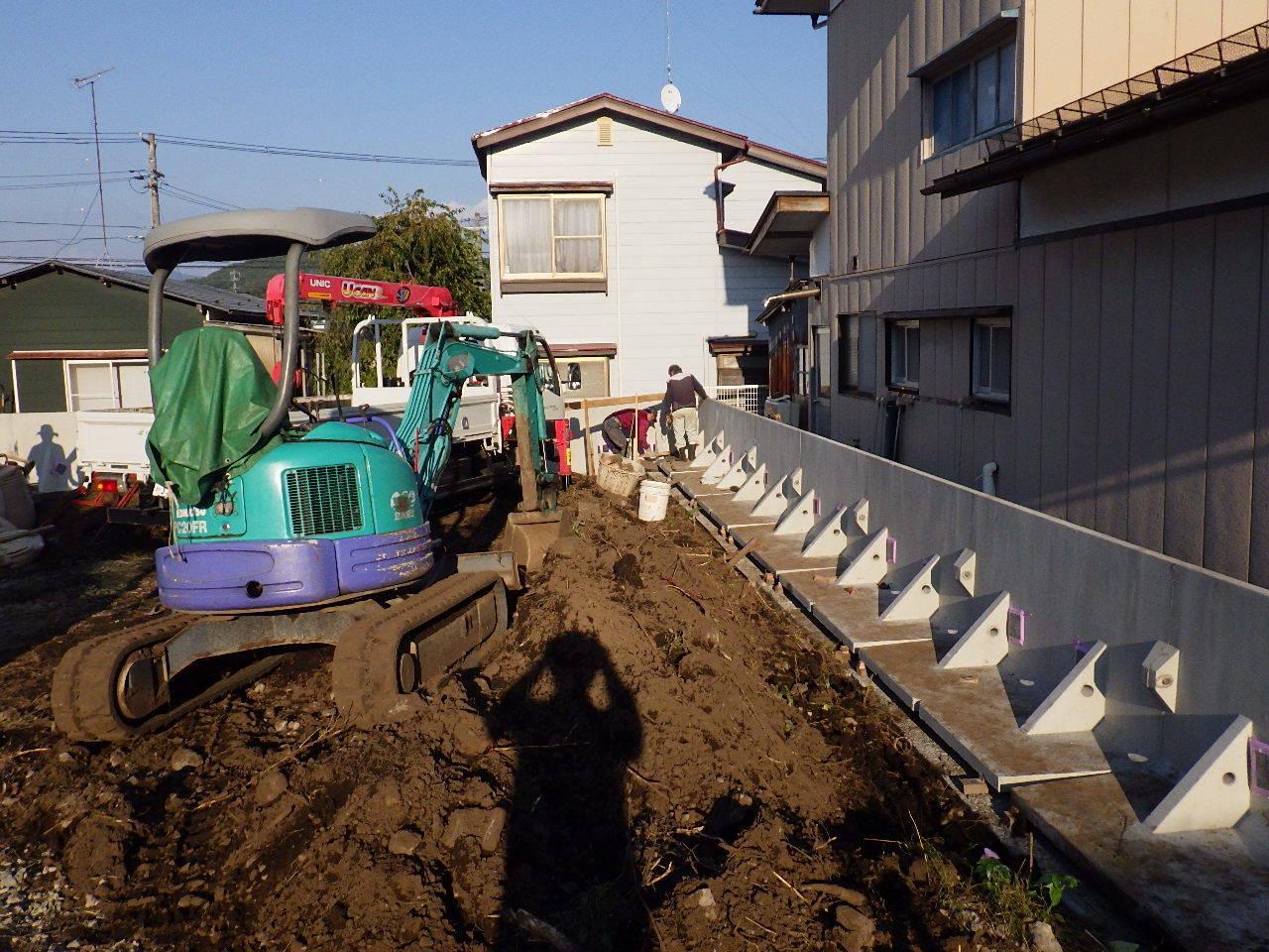 緑ヶ丘 アトリエのある家 工事スタート。_f0105112_04061562.jpg