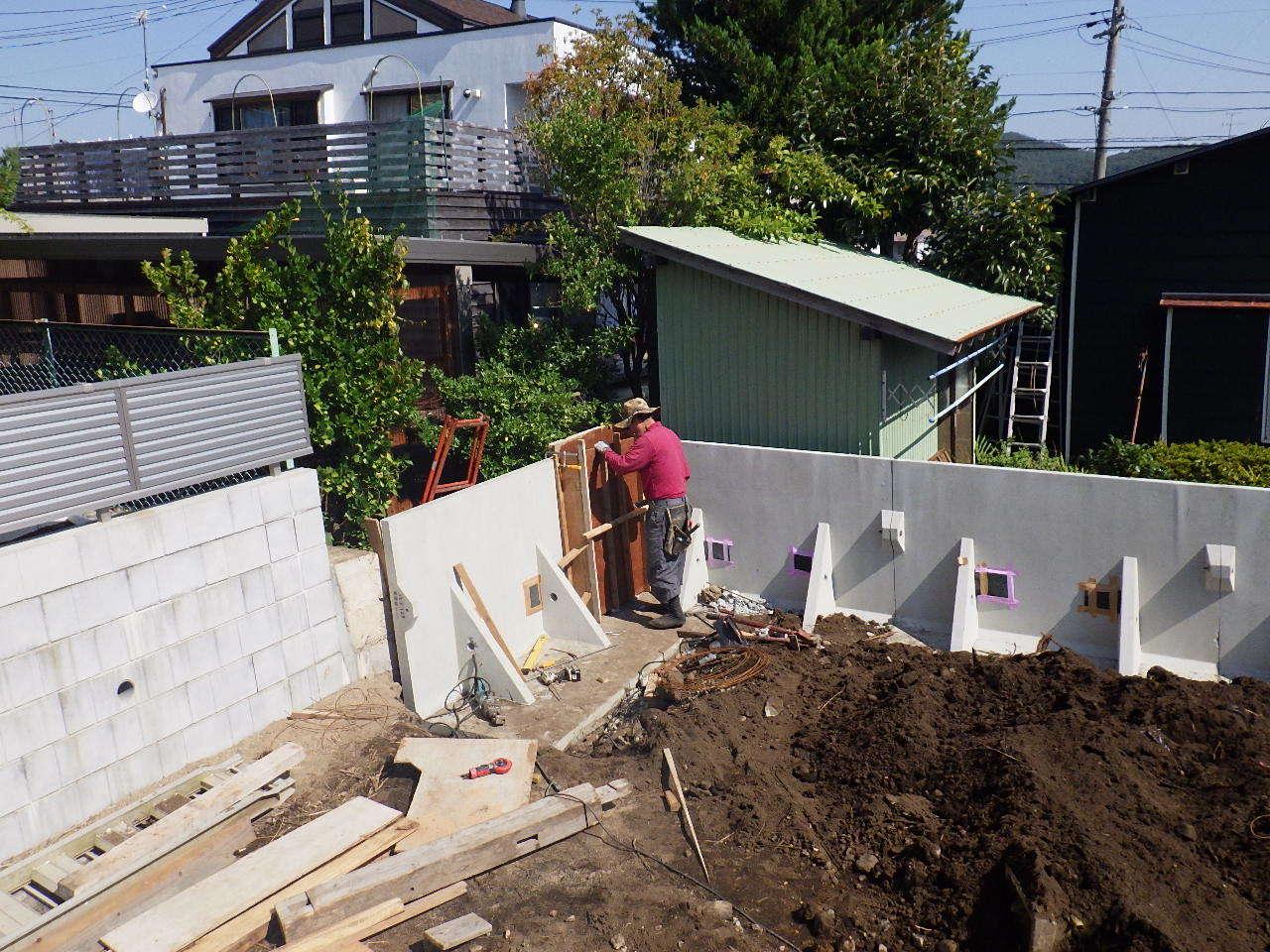 緑ヶ丘 アトリエのある家 工事スタート。_f0105112_04111814.jpg