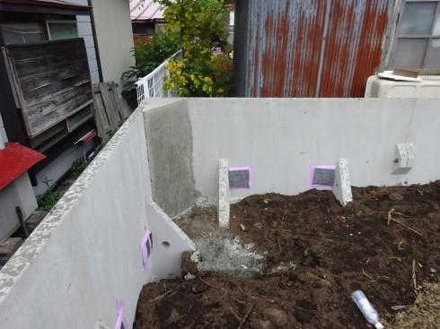 緑ヶ丘 アトリエのある家 工事スタート。_f0105112_04111893.jpg