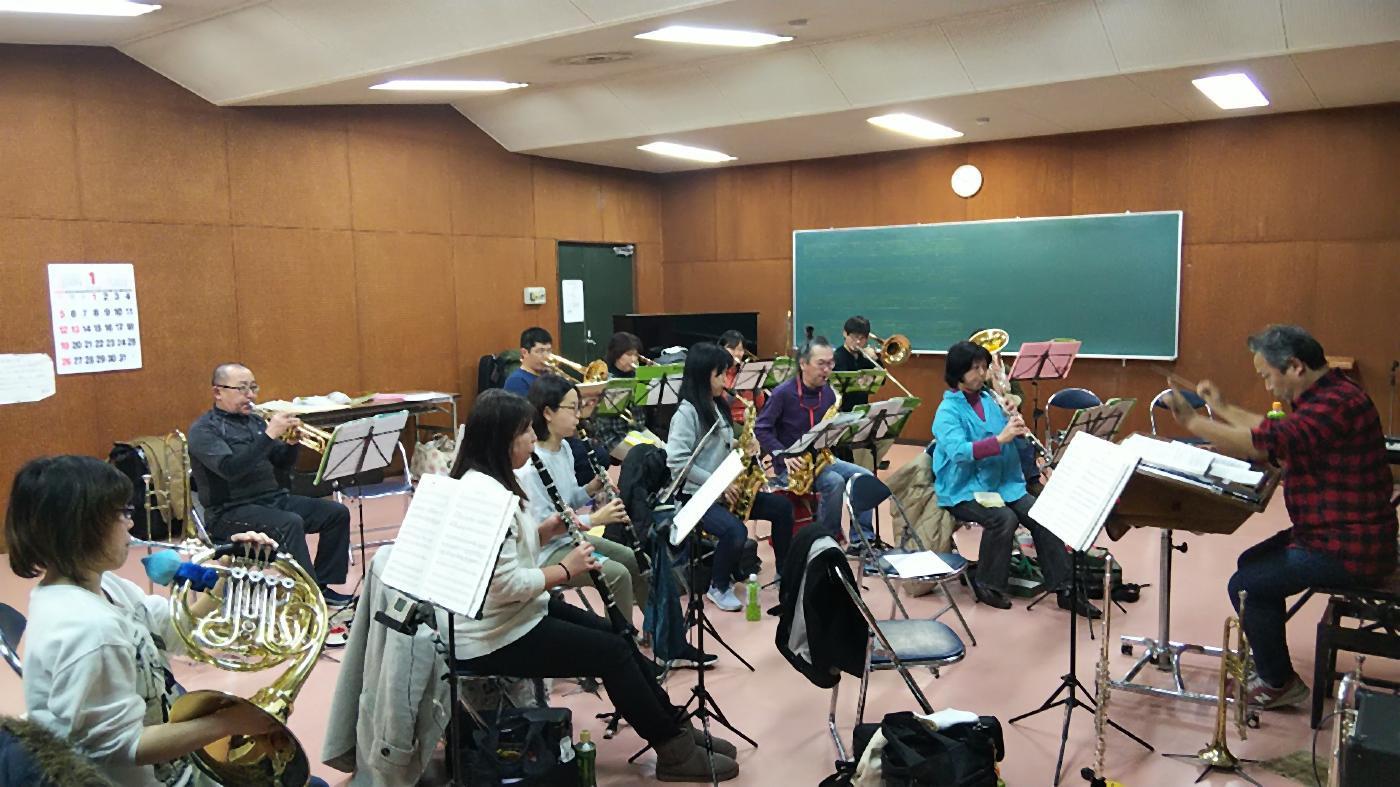 1月5日(日)松尾高校定期演奏会&楽団練習後記_f0200416_14012951.jpg