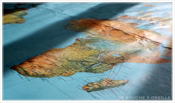 grande carte du monde AIR FRANCE エールフランスの大きな大きな世界地図 フランスアンティーク_d0184921_15102079.jpg