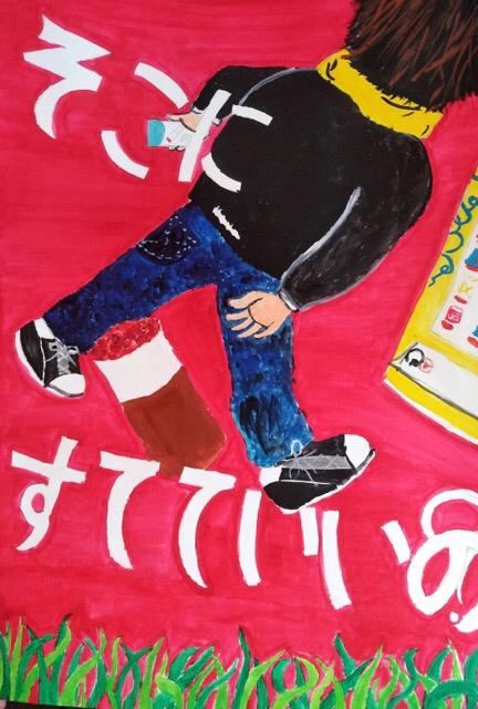 稲沢市内の小学生、防火ポスター。3_f0373324_14144829.jpg